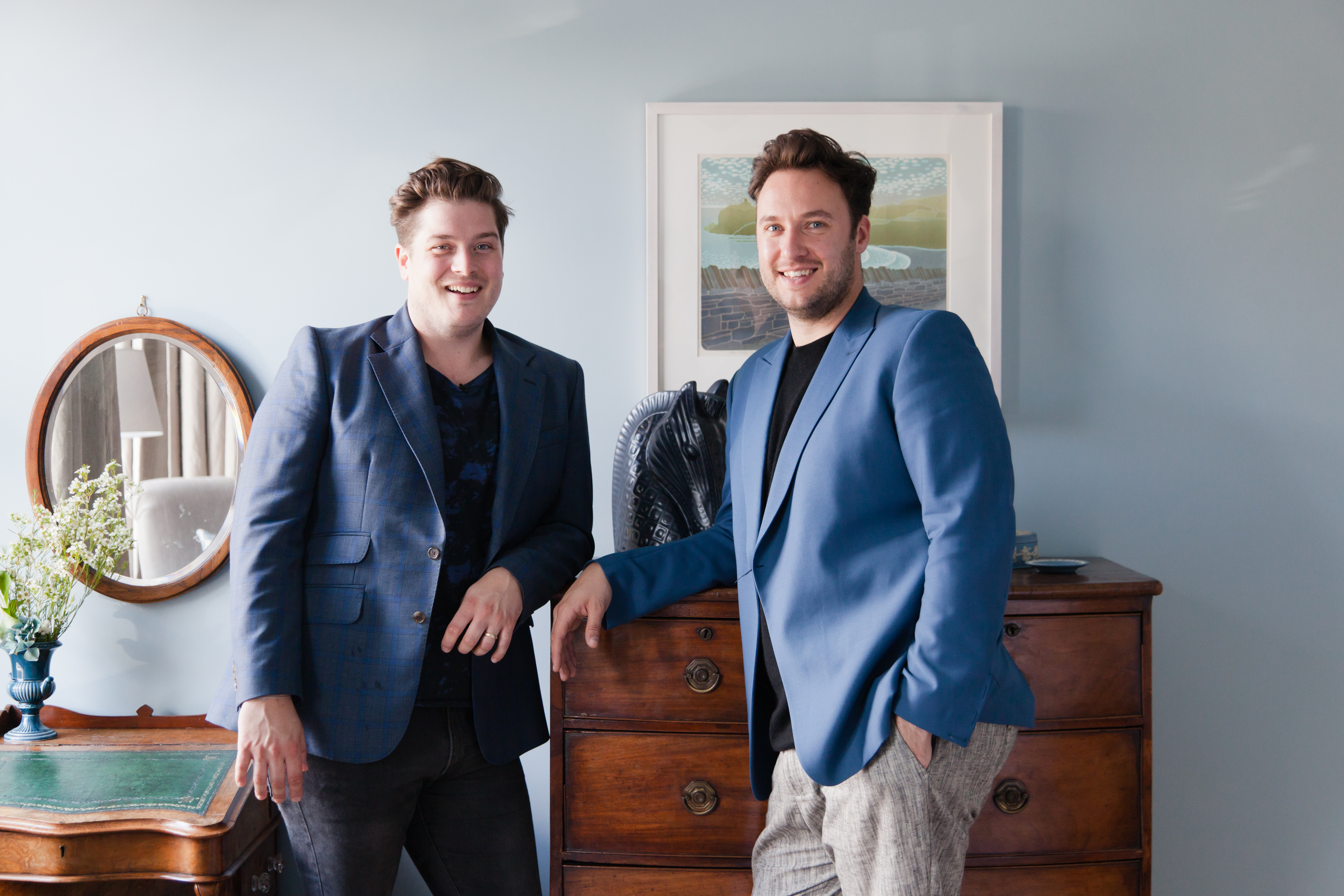 Behind The Fabulous Interior Design Duo Jordan And Russell From 2lovelygays Com