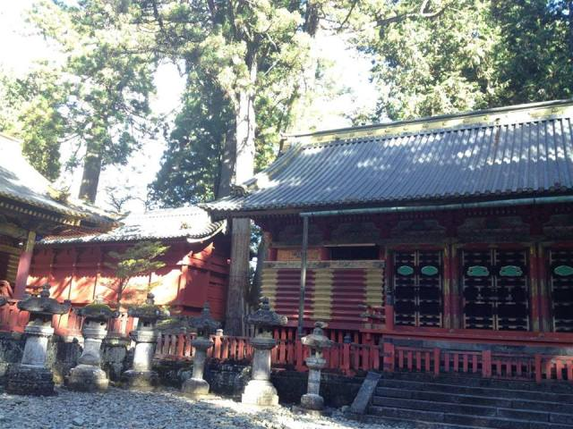 Kanadajin3 Mira in Japan Temple