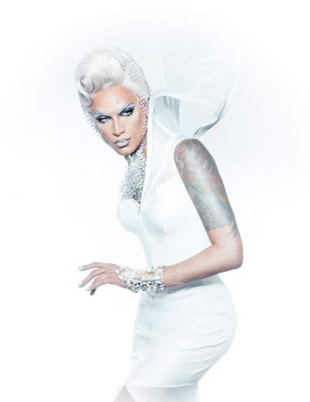 Miss Fame in White